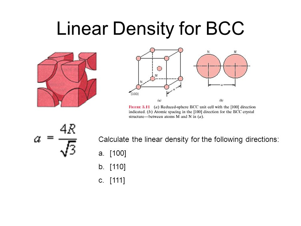 how to find linear density